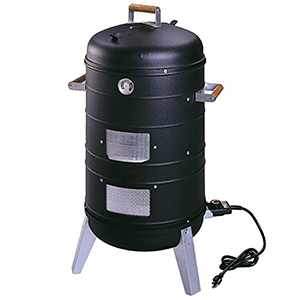 Americana Electric Water Smoker & Lock N' Go Grill (2 in 1)