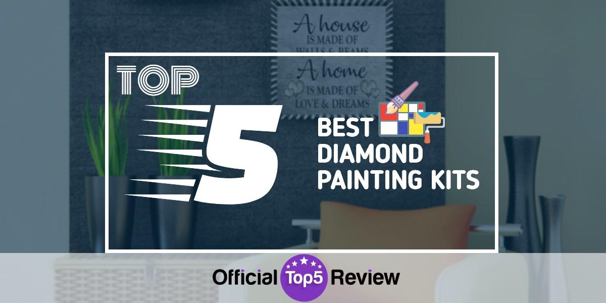 Best Diamond Painting Kits - Featured Image