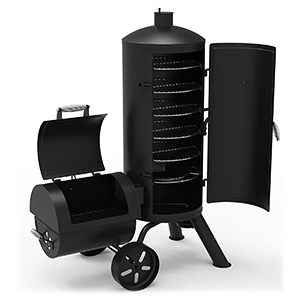 Dyna-Glo Signature Heavy-Duty Vertical Offset Charcoal Smoker & Grill