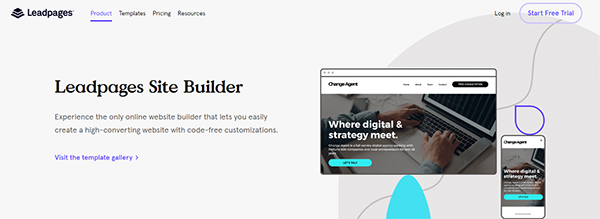 Leadpages All Colors
