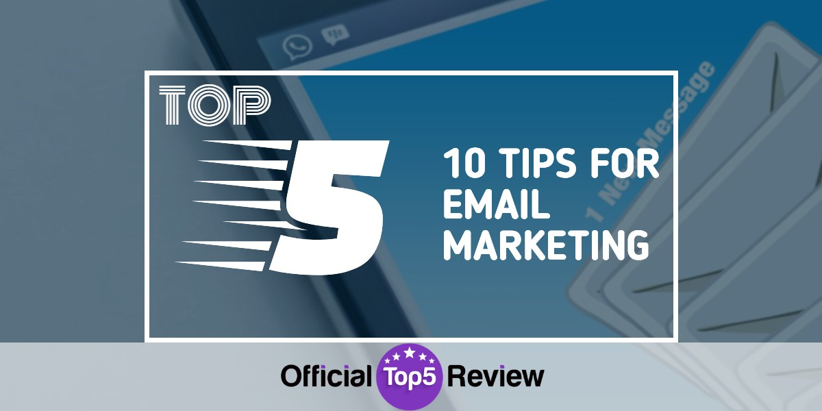 10 Tips For Email Marketing - Featured Photo