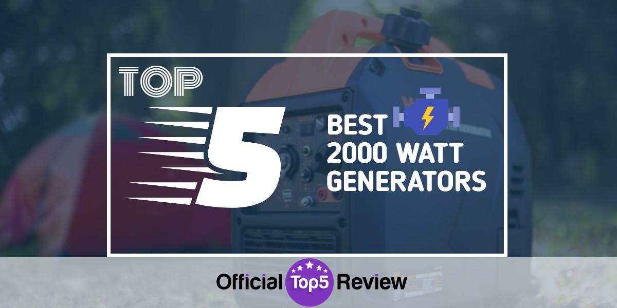 2000 Watt Generators - Featured Image