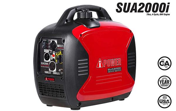 A-iPower SUA2000iV Super Quiet Portable Inverter Generator