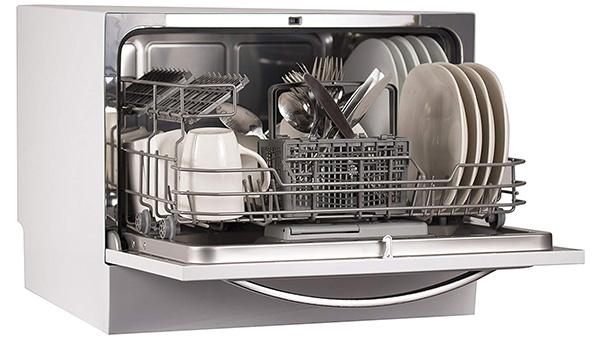 BLACK+DECKER Compact Counter-Top Dishwasher