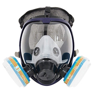Complete Suit Trudsafe 6800 Full Face Gas Chemical Mask Respirator