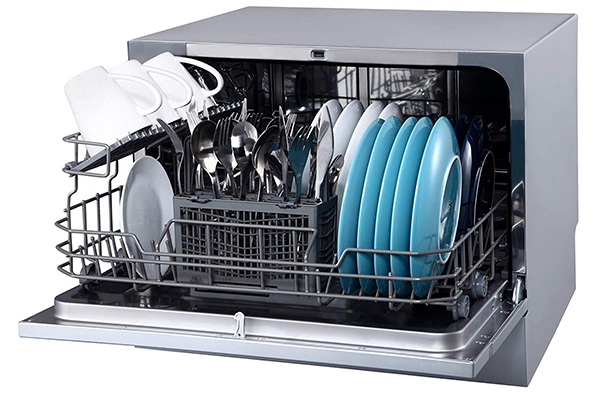 Edge Star Energy Star Rated Portable Counter-Top Dishwasher