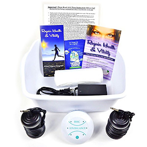 Ionic Foot Cleanse, Detox Foot Bath Machine by BHC