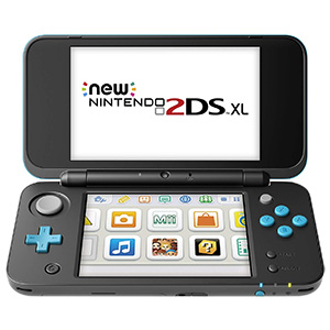 New Nintendo 2DS XL - Black