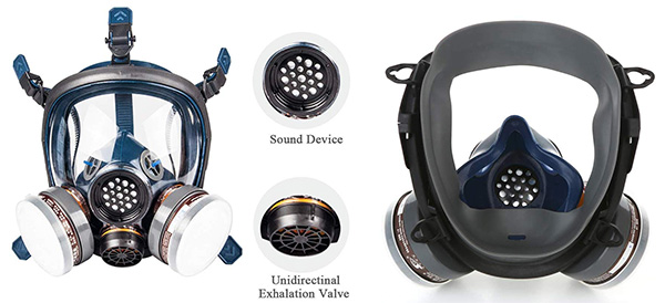 Organic Vapor Respirator Full Face Gas Mask