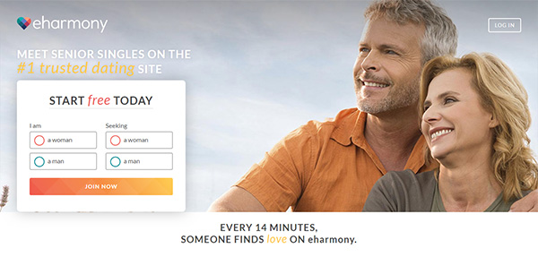 eHarmony gratis datingside