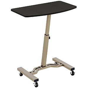 SHW Height Adjustable Mobile Laptop Stand