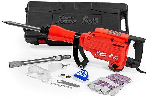 XtremePowerUS Heavy-Duty Electric Demolition Jack Hammer