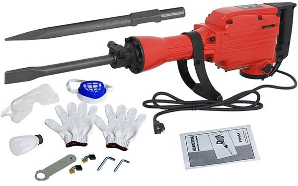 ZENY 2200W Heavy Duty Electric Demolition Jack Hammer