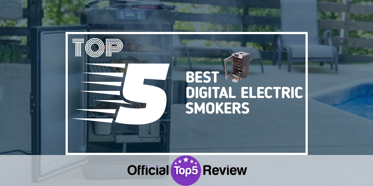Digital Electric Smokers - Featured Image
