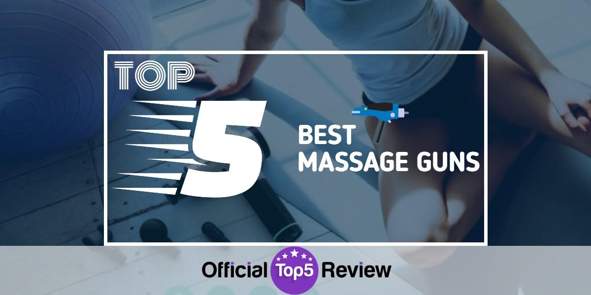 Massage Guns - Featured Image
