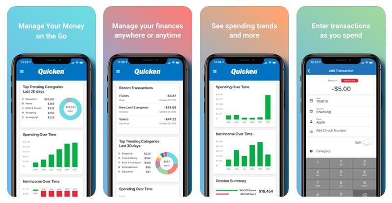 Banktivity vs Quicken